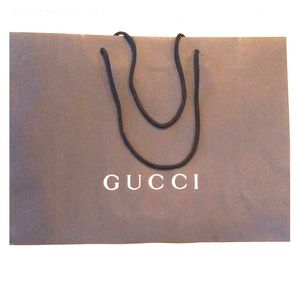 Authentic Large Gucci Gift Bag